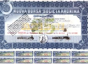Fondo Borsa Valori di Genova