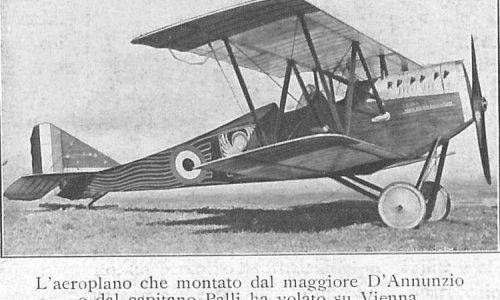 Uomini e macchine:  lo SVA e Gabriele D'Annunzio