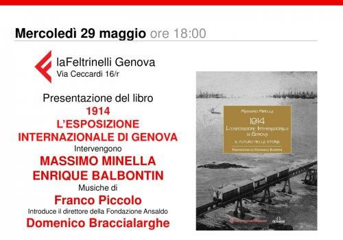 1914 L'esposizione Internazionale di Genova alla Feltrinelli