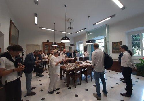 Visita dei consiglieri in Fondazione